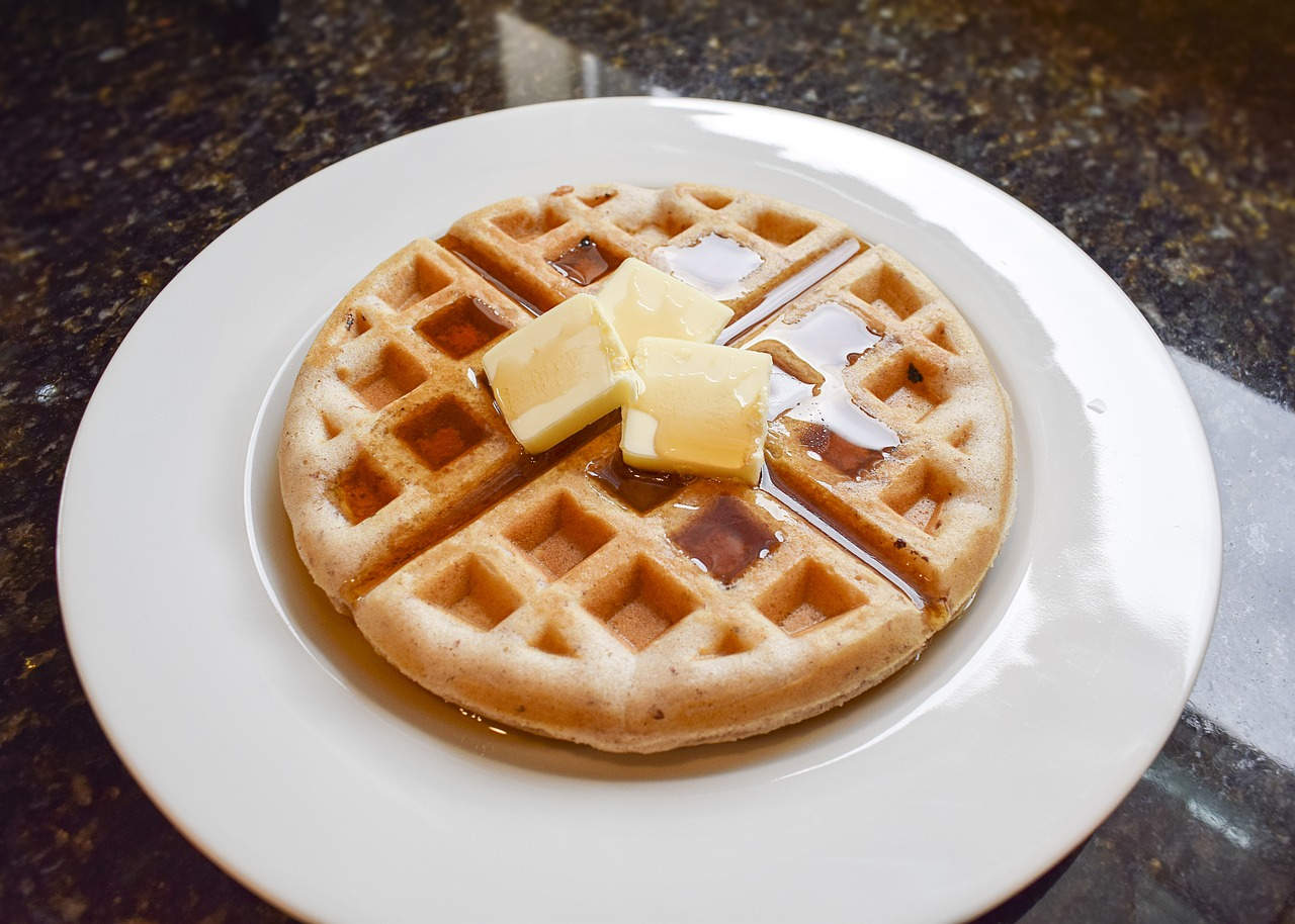 Waffles and Butter